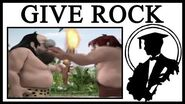 """Who Made """"I Give You Fire You Give Me Rock""""?"""