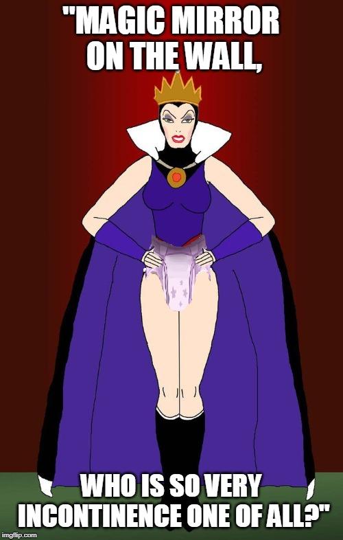 Evil Queen in Diapers