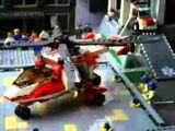 A Man Has Fallen Into The River In Lego City