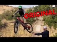 La Bicicleta y la botella video 100% original