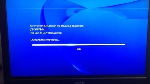Playstation 4:Error CE-34878-0/Galería de Vídeos