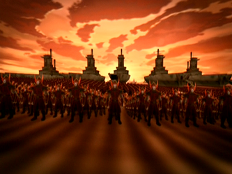 Pero todo cambió cuando la Nación del Fuego atacó