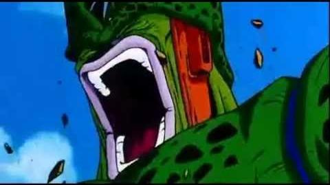 Dragon Ball Z Imma Firin Mah Lazor!!! (Real Cell's Face!!!)