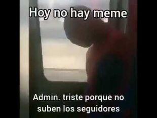 Admin triste, hoy no hay meme.