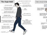The Virgin Normie Meme vs. The Chad