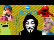 Anonymous, faraón y nadie te preguntó en Zoom- Trolleos en Zoom -15- CDER16
