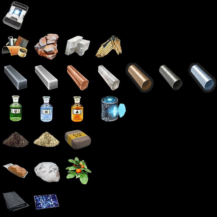 Resources in Memories of Mars