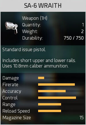 SA-6 Wraith