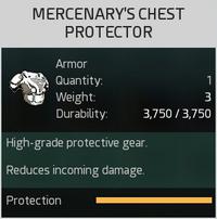 Mercenary's Chest Protector