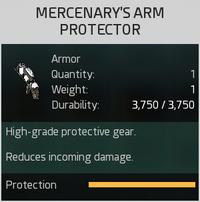 Mercenary's Arm Protector