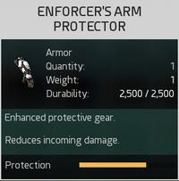 Enforcer's Arm Protector
