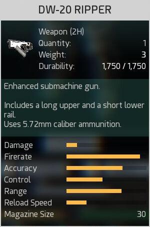 DW-20 Ripper