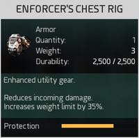 Enforcer's Chest Rig