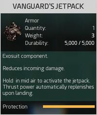 Vanguard's Jetpack