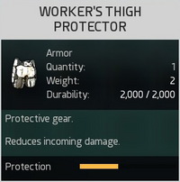 Worker's Thigh Protector
