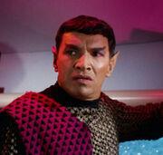 Un comandante maschio Romulano (2266)