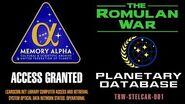 THE ROMULAN WAR Earth-0