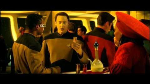 Star Trek - Treffen der Generationen Data Scene German