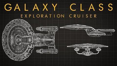 Star Trek Galaxy Class Starship EXTENDED BREAKDOWN