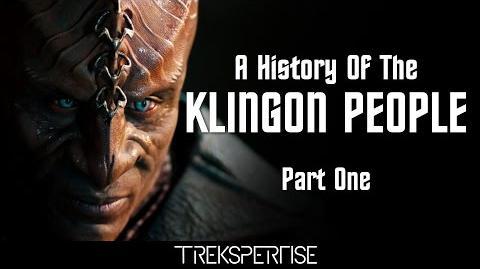 Trekspertise - A History Of The Klingon People (Part One)