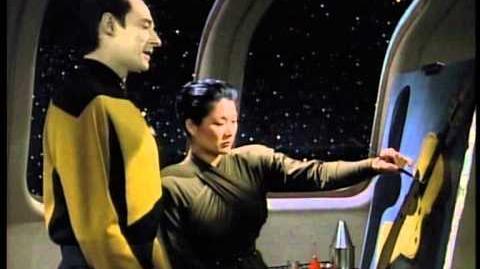 Star Trek - Picard und Data Scene German