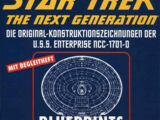 Die Original-Konstruktionszeichnungen der U.S.S. Enterprise NCC-1701-D