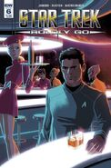 Star Trek Boldly Go, issue 6