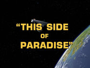 1x25 This Side of Paradise title card