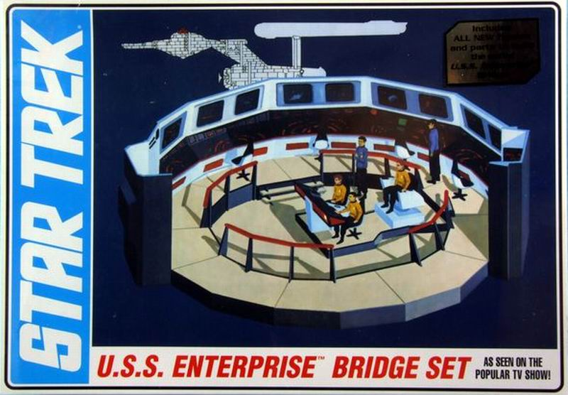 AMT Model kit AMT808 USS Enterprise Bridge 2013.jpg