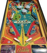 Bally Star Trek Pinball playfield