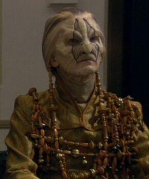 A Rigellian ambassador, 2155