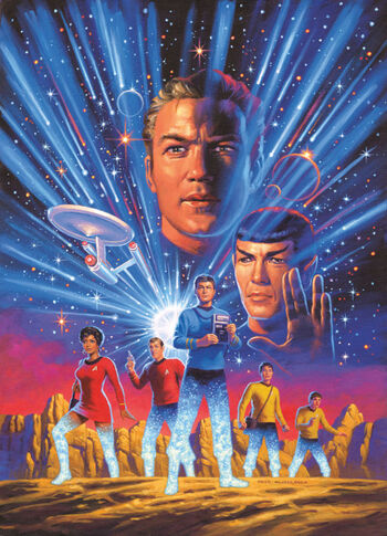 Promotional art for the series
