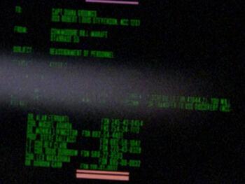 Steve Gallaci on a Starfleet Command order