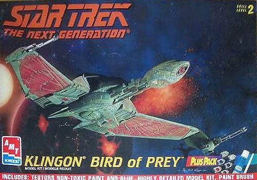 AMT Model kit Klingon Bird of Prey 1997.jpg