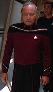 Nakamura's admiral uniform, 2365