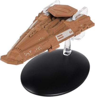 Raumschiffsammlung 101 Bajoranischer Frachter.jpg