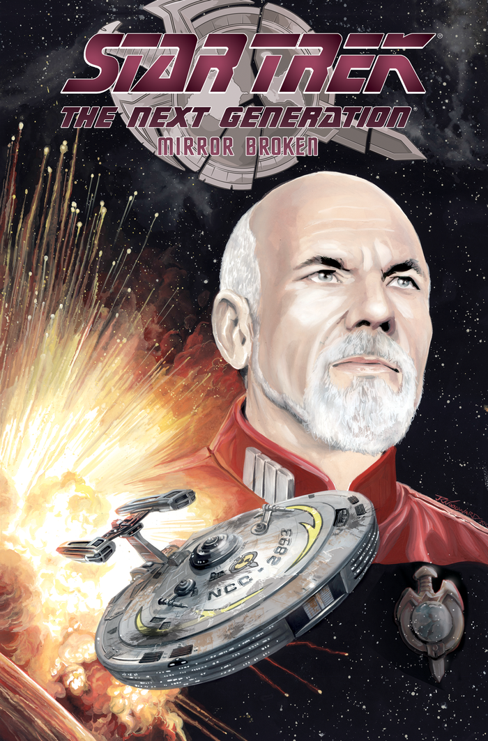 Star Trek: The Next Generation - Mirror Broken (omnibus)