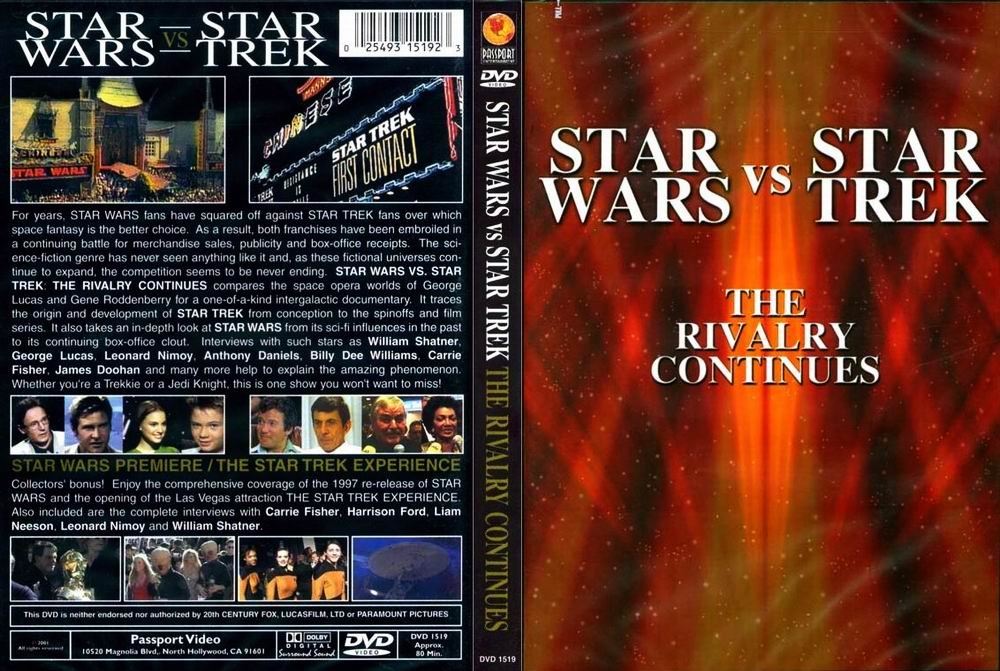 Star Wars vs. Star Trek: The Rivalry Continues (DVD)