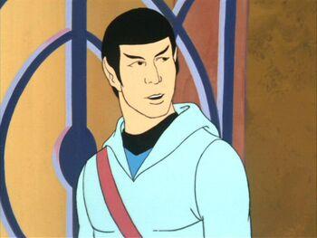 Spock as Selek