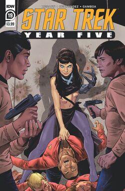Star Trek Year Five issue 19 cover A.jpg