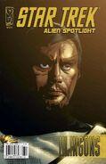 Alien Spotlight Klingons cover