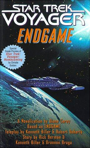 Cover of the novelization of Endgame