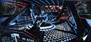 Klingon bridge concept art