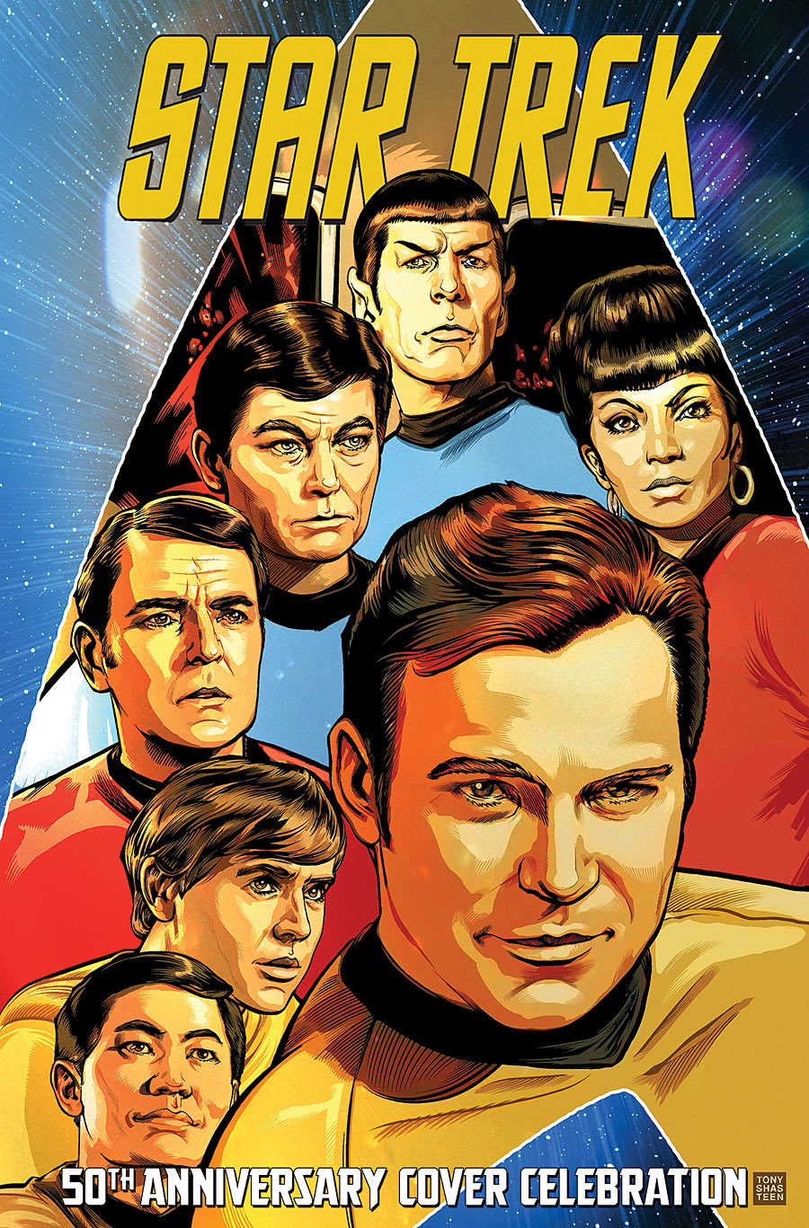 Star Trek: 50th Anniversary Cover Celebration