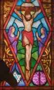 Vitrail Jésus Christ