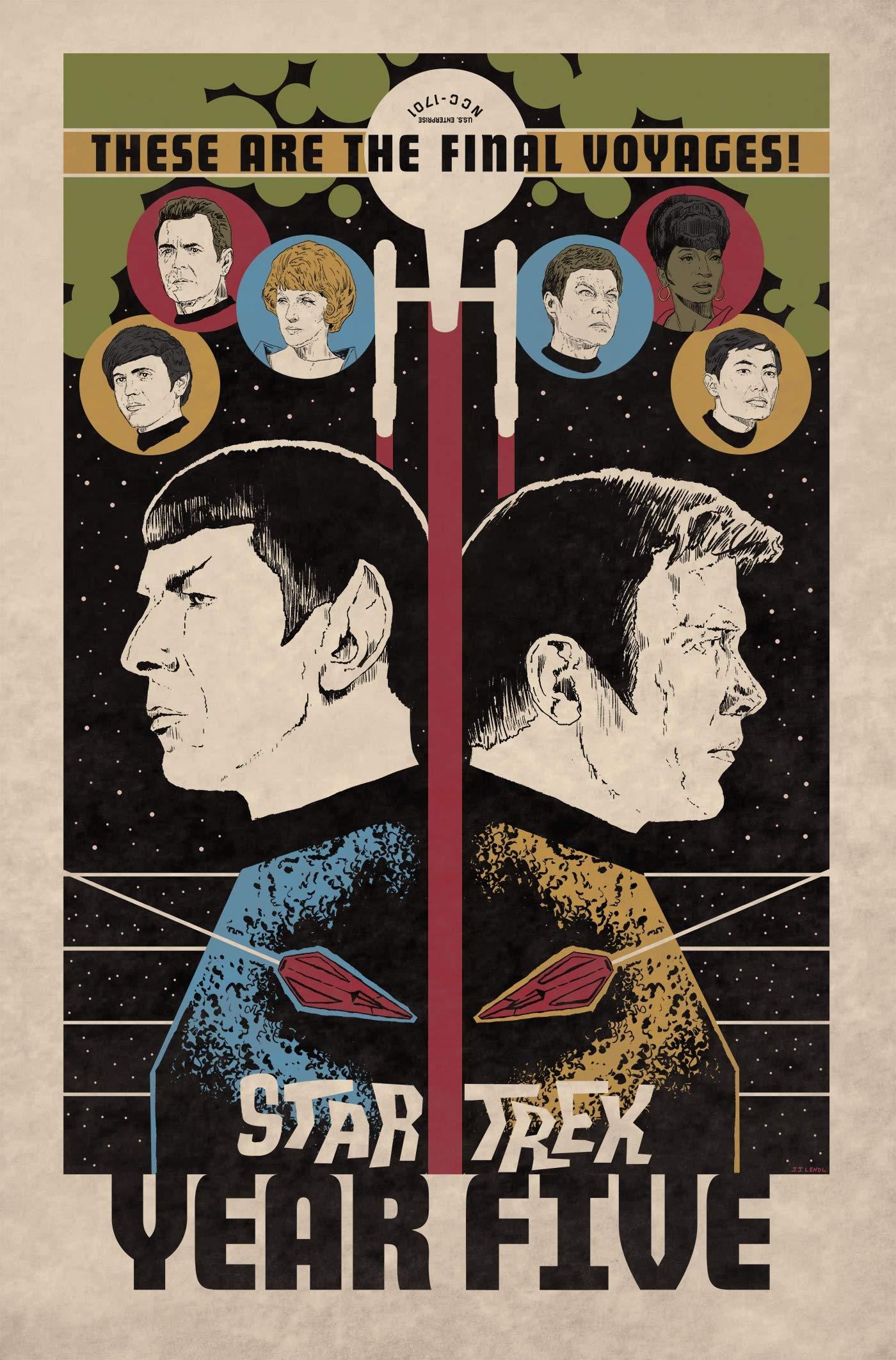 Star Trek: Year Five - Odyssey's End