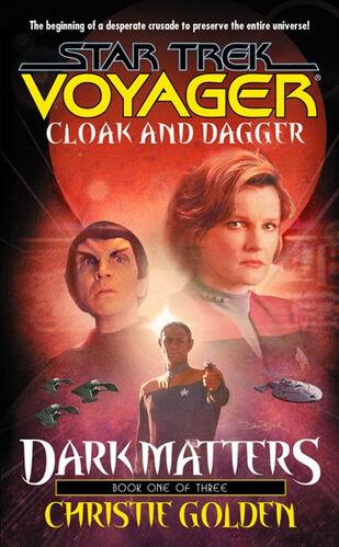 Cover of book 1, Cloak and Dagger