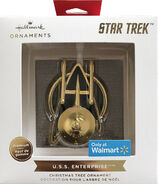 Hallmark 2021 USS Enterprise metal