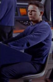 Personnel inconnu de l'USS Enterprise NCC-1701