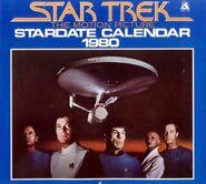 Star Trek Calendar 1980